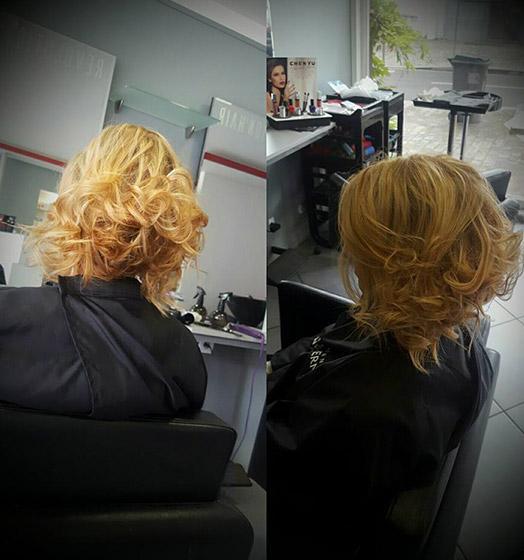 Coupe femme faite par votre coiffeur à Roncq